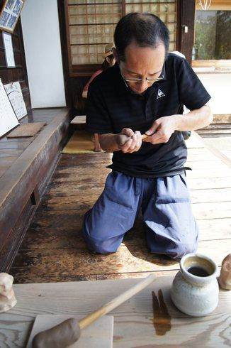持光寺でにぎり仏体験