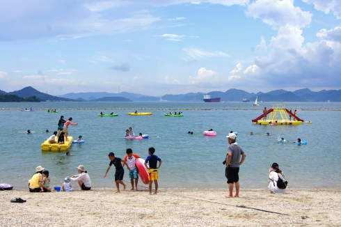 瀬戸田サンセットビーチがパワーUP!2014から海と陸のレジャーターミナルへ