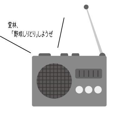 一岡×堂林がカープしりとり!RCCラジオで選手のほのぼのCMに胸キュン