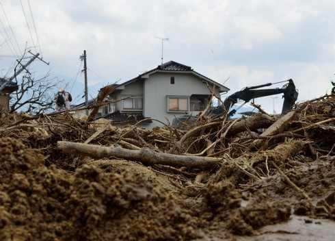 広島の土砂撤去に100億円、土砂災害としては過去最大級