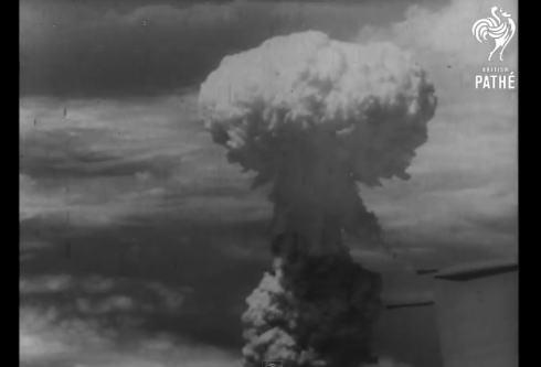 8月6日原爆投下の動画がyoutubeに、「世界を震撼させた日」