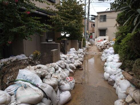 広島土砂災害 現場の写真6