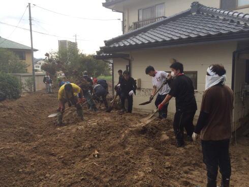 広島土砂災害 現場の写真8
