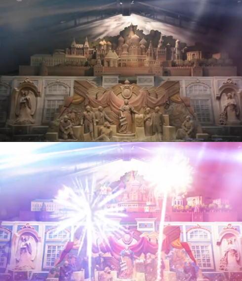 鳥取 砂の美術館でプロジェクションマッピング 画像2
