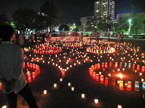 七夕キャンドルナイトリターンズ!8.30 東広島に天の川