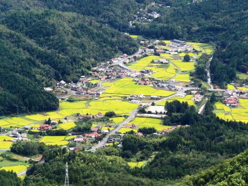 大竹市栗谷 風景