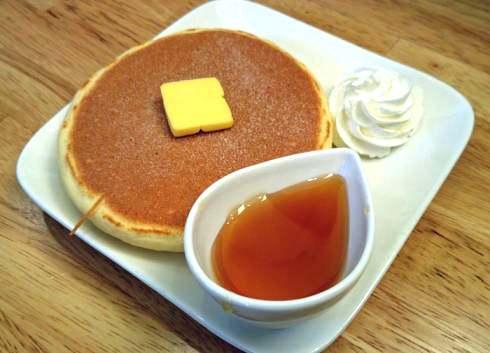 庄原 ひだまりカフェ プレーンパンケーキ