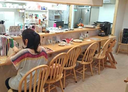 庄原 ひだまりカフェ 店内の写真2