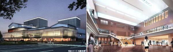 東広島芸術文化ホール 完成予想図