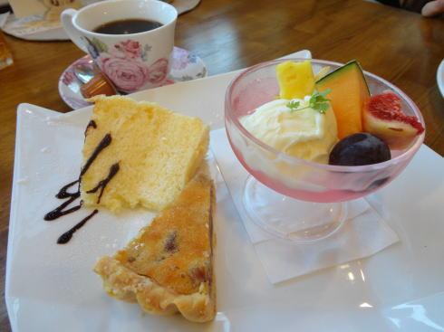 ソラカフェ(Sola cafe) スリースイーツセット