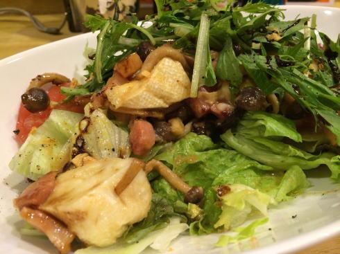 洋食だいにんぐ なかむら サラダの写真2