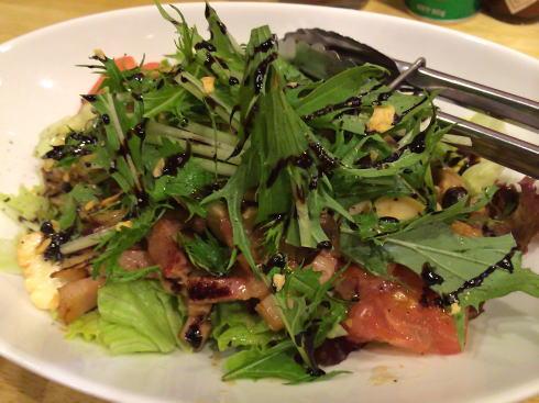 洋食だいにんぐ なかむら サラダの写真