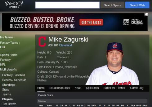 マイク・ザガースキー、カープが助っ人左腕との契約を発表
