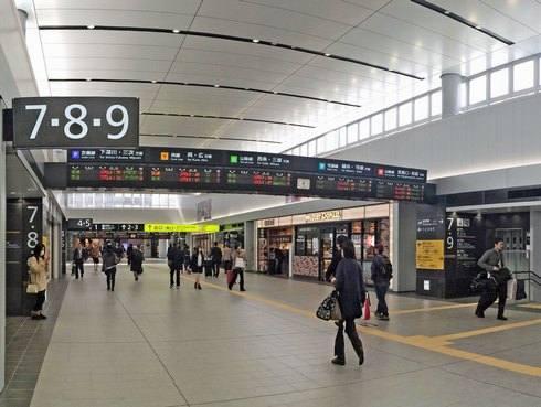 広島駅 明るくなってリニューアルへ