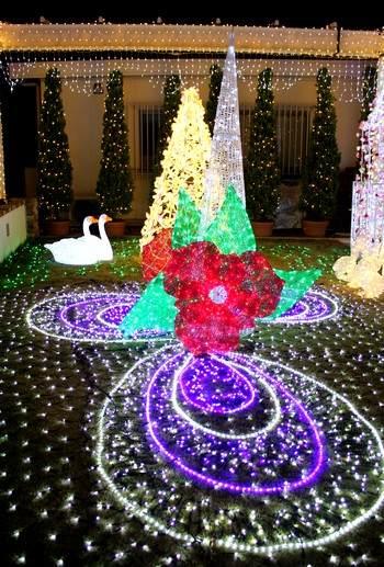 福山SA クリスマスイルミネーション