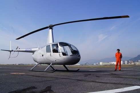 ヘリコプターで宮島へ遊覧飛行!上空から見る景色を堪能