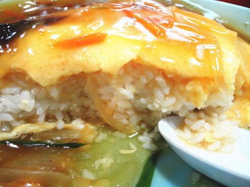 蓬莱 天津丼の写真4