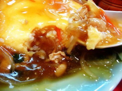 蓬莱 天津丼の写真3