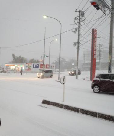 12月17日の大雪 熊野町2
