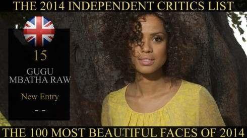 世界で最も美しい顔100人 2014年、15位はググさん