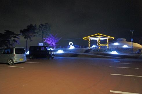 絵下山公園 展望広場 駐車場
