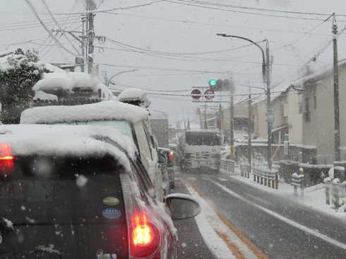 12月17日の大雪 大竹市3