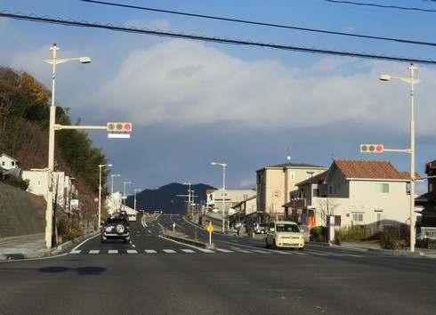 畑口寺田線の入口