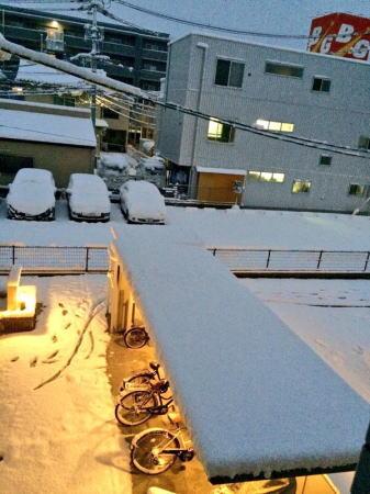12月17日の大雪 広島県 戸坂