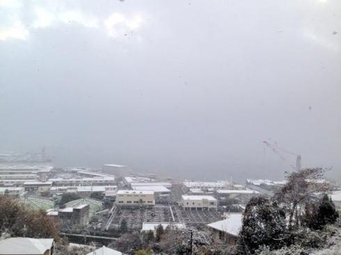 12月17日の大雪 呉市