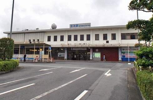 古い三次駅の様子