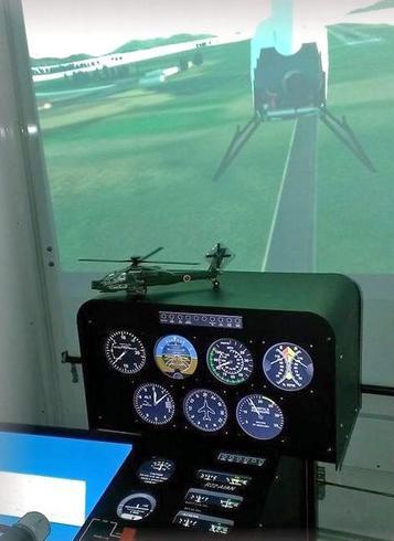 広島ヘリシミュレータークラブ 写真
