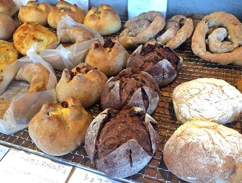 ラパンジュジュ、廿日市市の自家製天然酵母のパン屋さん