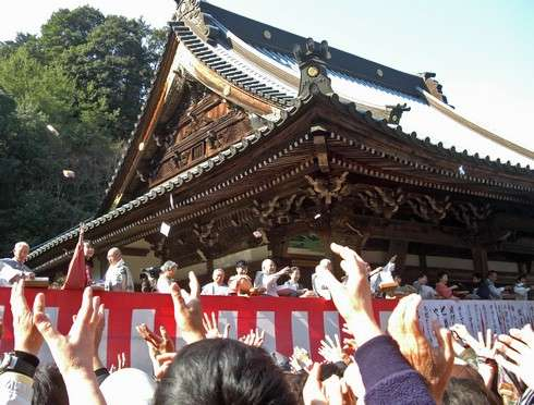 宮島・大聖院にて節分祭