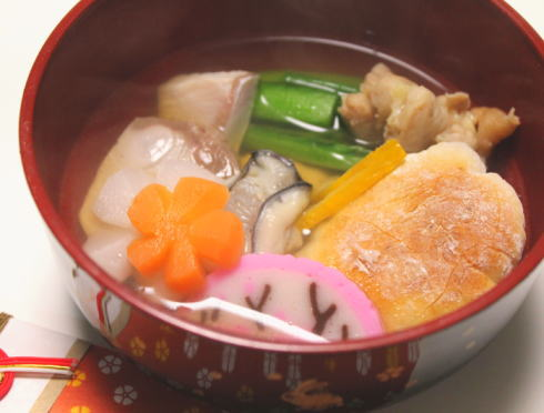 広島のお雑煮 画像