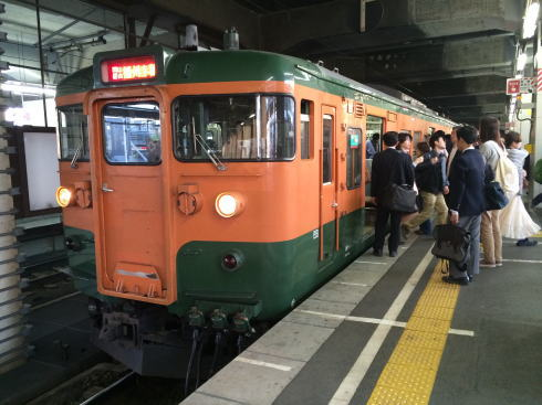 115系電車 画像