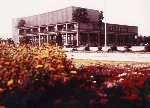 新広島ホテル、広島初のホテルとして平和公園内に誕生