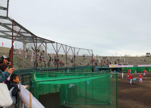 沖縄市野球場 以前の様子2