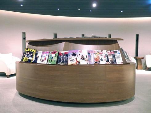広島空港ビジネスラウンジ「もみじ」 室内の様子