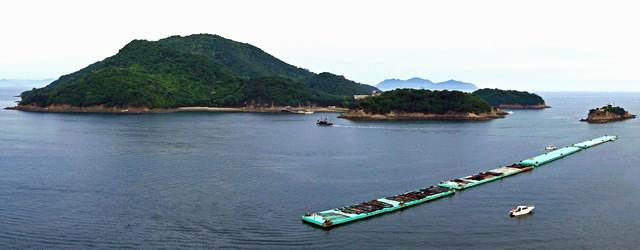 仙酔島の景色