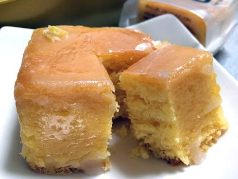 またきて四角 瀬戸田レモンケーキ、向原高原の卵とエコレモンのしっとりケーキ