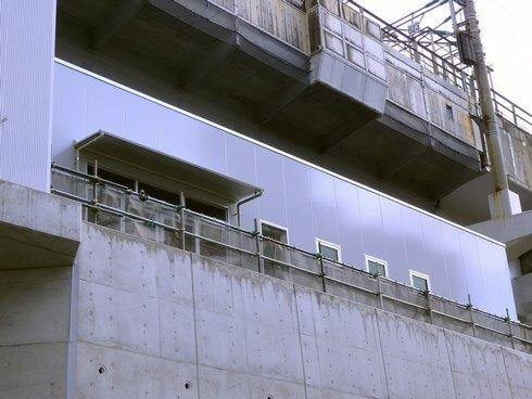 JR新白島駅のセブンイレブン