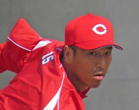 広島のマウンドは最高でした!黒田投手が初お立ち台