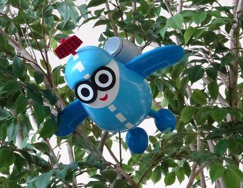ソラミィ、広島空港キャラクターが活躍中 八天堂とのコラボも
