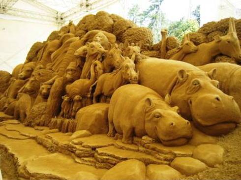 コナン ミステリーツアー 砂の美術館