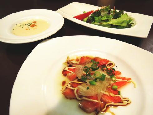 東広島のレストラン ドリーム 前菜料理