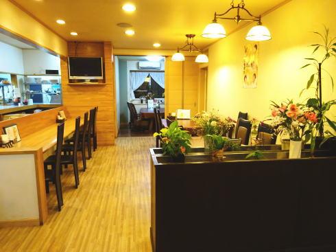 東広島のレストラン ドリーム 店内の様子