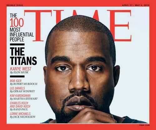 世界で最も影響力のある100人 表紙