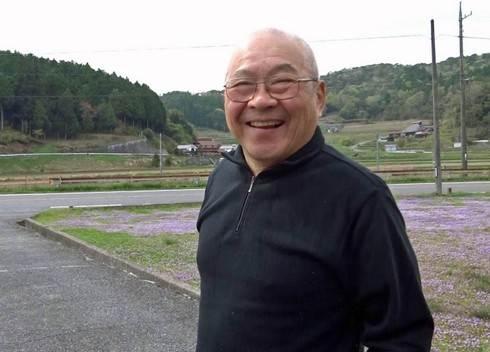 東広島 田んぼに護衛艦 新田さん