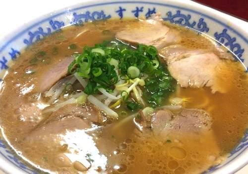 広島の老舗ラーメン店 すずめが閉店、2015年4月末で