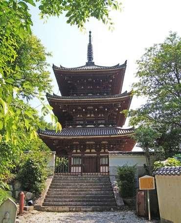 西国寺の三重塔